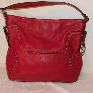 Michael Kors Handbag Shoulder Beautiful Red